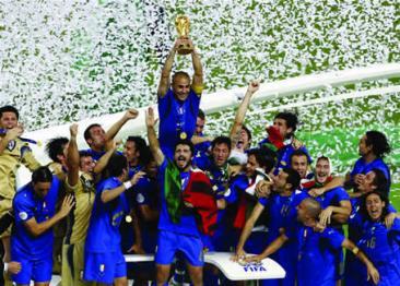 La vittoria dei Mondiali di Germania 2006