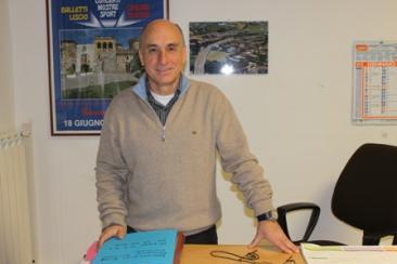 Nella foto il responsabile del servizio demografico Eleno Mattei (Foto: g.m.t.)