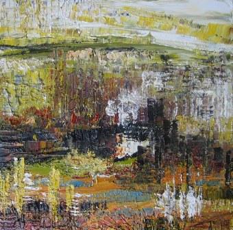 Nella foto un'opera dell'artista Antonella Catini