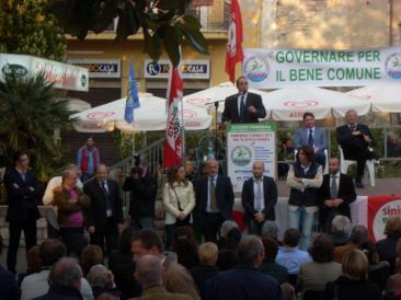 La presentazione della lista 'Ottorino Ferilli sindaco per Fiano' (Foto di Caterina Fava)
