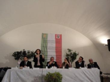 Un'immagine della conferenza di sabato scorso organizzata dalla sezione di Fiano Romano dell'Associazione Nazionale Carabinieri (Foto: Stefano Papalia)