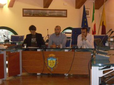 Nella foto da sinistra: Davor Antonucci, Davide Santonastaso, Sabatino Rossi (Foto: Cat. Fa.)