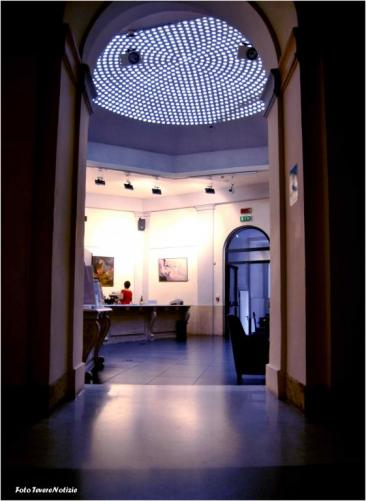 Sala del Bistrot - Palazzo Santa Chiara (Foto di Chiara Rossi)