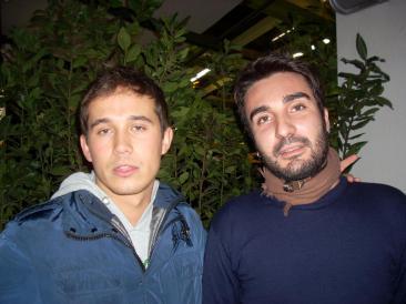 Il presidente Alessandro Pezzola e il vice presidente Giuseppe Bellomo (Foto: Cat. Fa.)