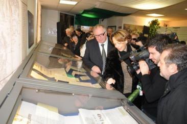 Inaugurazione dell'Archivio di Stato di Rieti con il Prefetto Chiara Marolla
