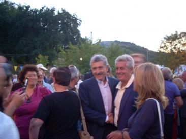 L'arrivo dell'onorevole D'Alema (Foto: Caterina Fava e Stefano Papalia)