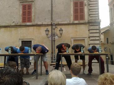 Eccoli qui i 6 protagonisti: famelici, agguerriti, insaziabili... (Foto: ste.pa.)