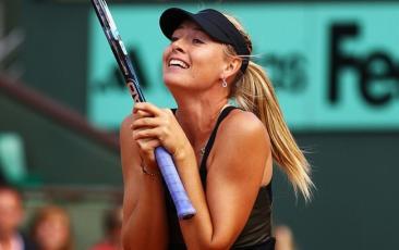 La vincitrice del Roland Garros 2012, Maria Sharapova