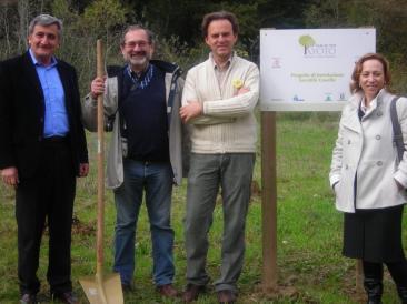 All'iniziativa sono intervenuti il presidente del parco della riserva Tevere-Farfa Paolo Henrici De Angelis, il vice...