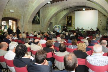 Nella foto: il convegno internazionale del settembre 2010