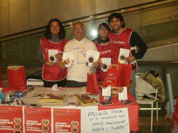 una parte della squadra dei volontari scesi in campo per sostenere Cardiosalus (Foto: ste. pa.)
