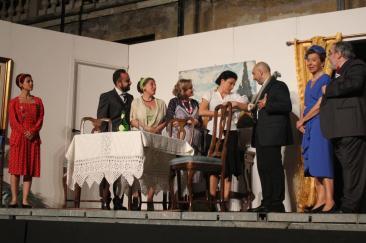 In scena lo spettacolo Le bugie hanno le gambe lunghe (Foto: g.m.t. - archivio TevereNotizie)