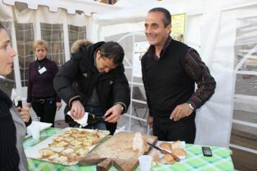 Nella foto: il presidente della Pro loco Alberto Baio nel corso di una delle precedenti edizioni della manifestazione