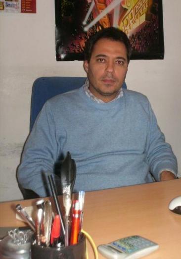 Massimo Palumbo, direttore del Cineferonia di Fiano Romano (Foto: ste. pa.)