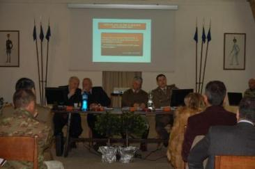 Un'immagine della riunione tecnica nazionale che si svolta presso il Centro Militare di Equitazione di Montelibretti