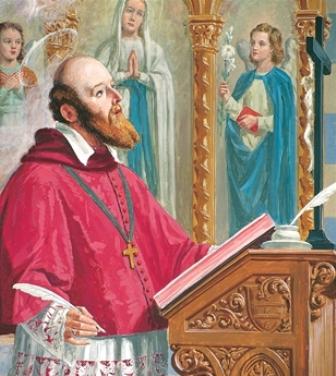 San Francesco di Sales, patrono dei giornalisti