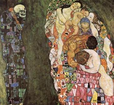 'La vita e la morte' di G. Klimt
