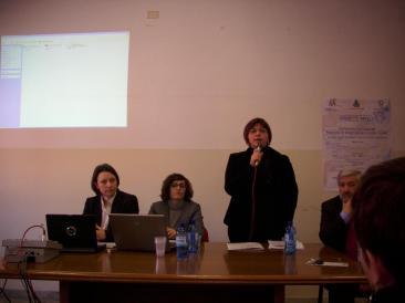 Immagine della prima giornata della conferenza internazionale sulle politiche di integrazione a livello locale, tenutosi a Fara Sabina (Foto: la. ber.)