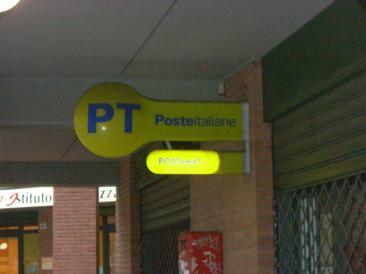 L'ufficio postale di Fiano Romano (Foto: cat. fa.)